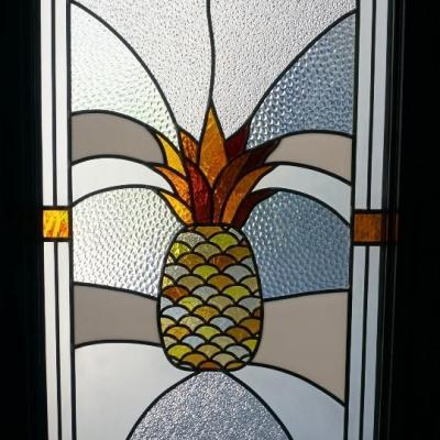 Vitrail ananas